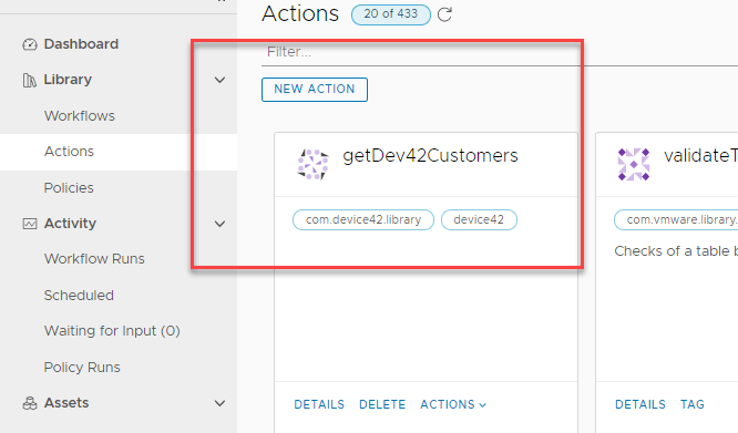 vRealize Orchestrator – RestAPI Action to Input Form Field