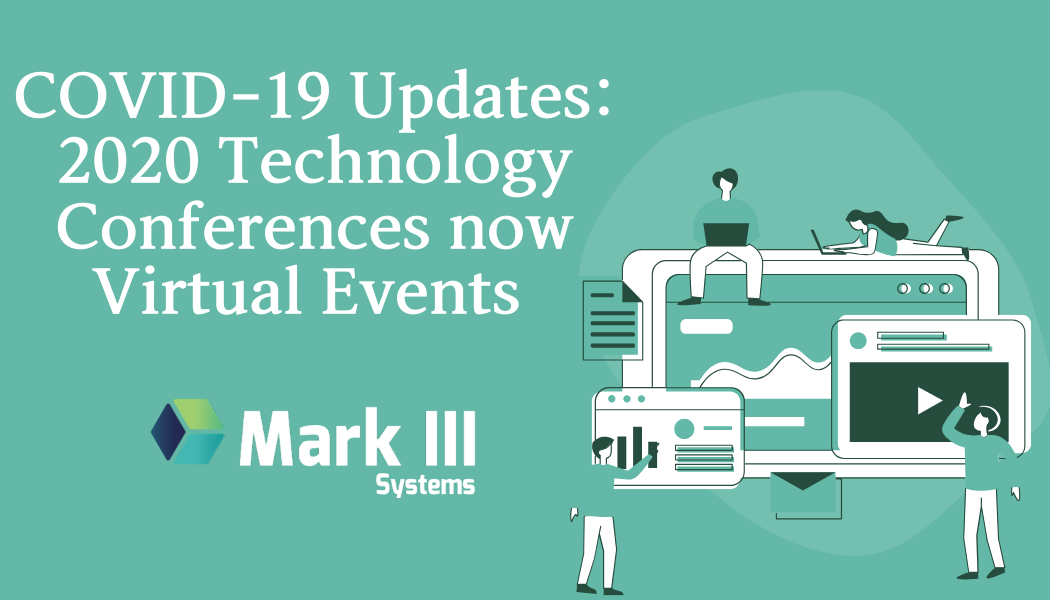 Coronavirus Tech Conference Updates