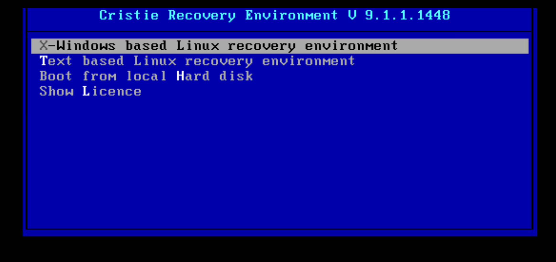 Linux Bare Metal Recovery with Cohesity