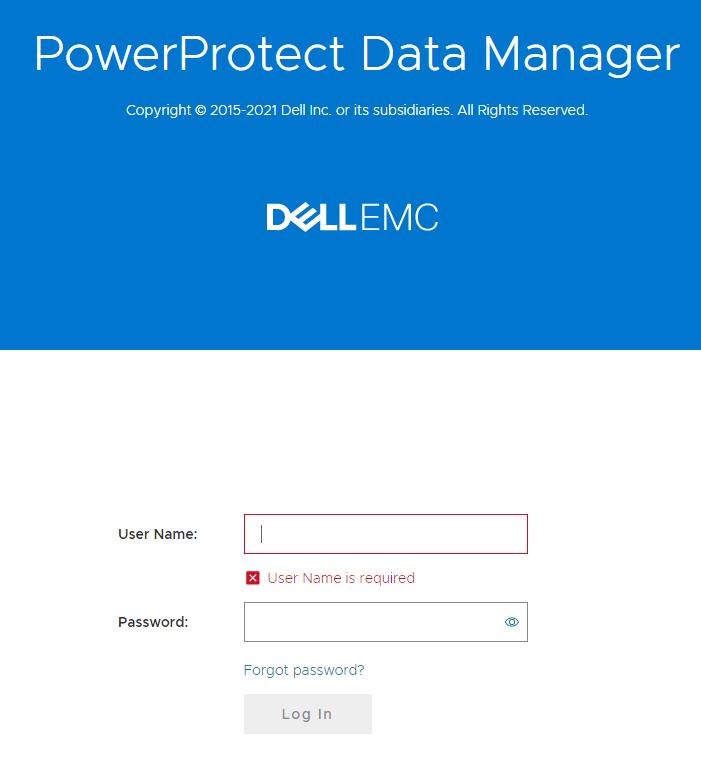 PowerProtect Data Manager